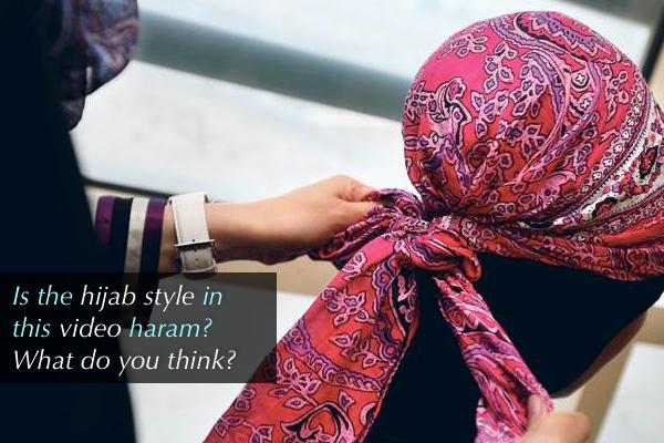 Camel Hump Hijab Style?