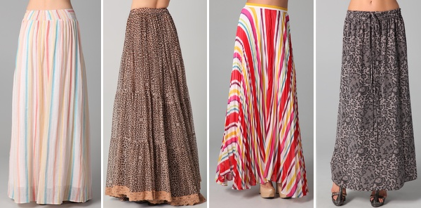HIJAB STYLE FINDS : FANCY MAXI SKIRTS