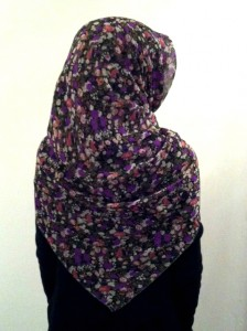 Secret Garden Hijab Style - Side